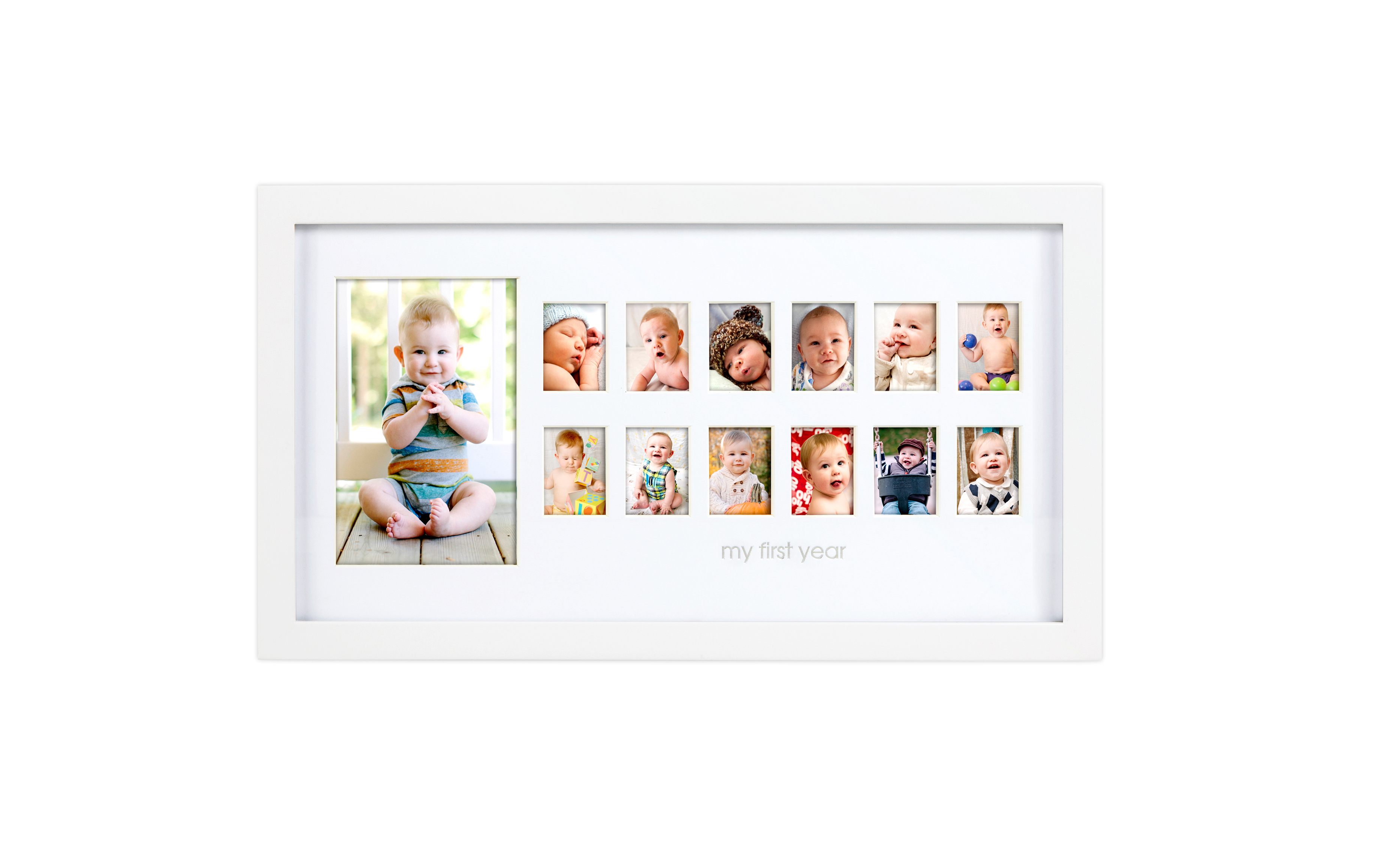 Amazing Baby First Year Photo Frame Ornament - Framed Art Ideas ...