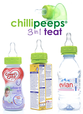 Chillipeeps 3 i 1 Napp 6-p