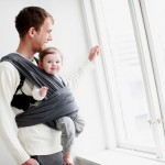 Dreamy Dot baby carrier grey 1-p