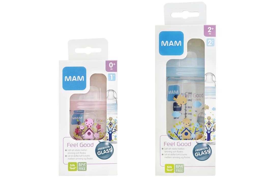 MAM Glass Bottle