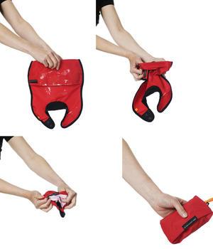 Bib red  4 pcs