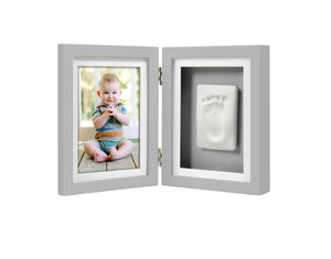 Babyprints Desk Frame Grey 6p