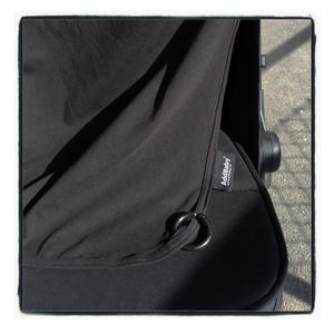 Stroller curtain Black 5-p
