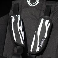 Harness muffs AddBaby® Zebra 1p