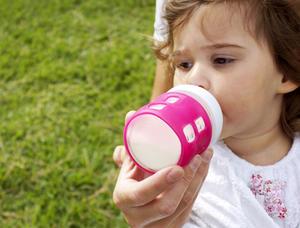 Cherub Baby Universal Bottle gripper Pink 1p