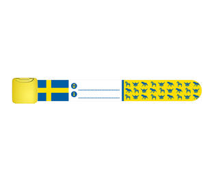 Infoband Swedish Flag 12-pack