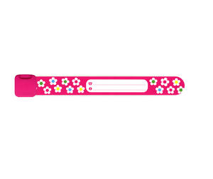 Infoband Pink With Flowers 12-pack