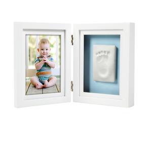 Babyprints Ram Dubbel Ledad Vit 6p