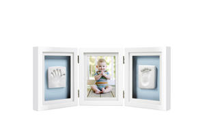 Babyprints Triple Desk Frame White 6p