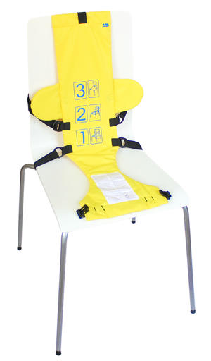 Baby seat yellow  3 pcs
