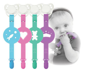 Pacifier holder Paciplay 5-p