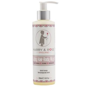 Harry & Rose Baby Hair-Body Wash 6p