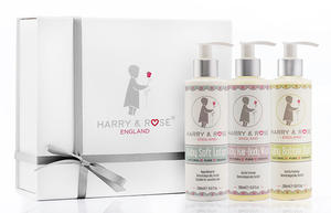 Harry & Rose Baby Skincare Gift Box 5p