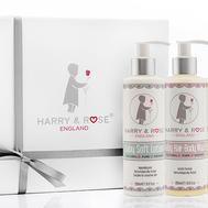 Harry & Rose Baby Skincare Gift Box 5p