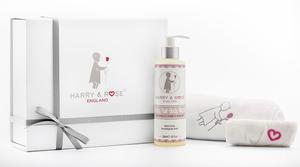 Harry & Rose Baby Bath Gift Set 5p