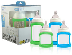 Cherub Baby Glass Bottle Starter kit 1p