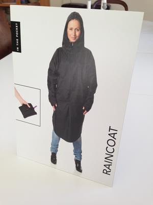 Display ITPB Raincoat seat