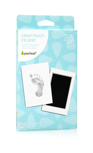 Clean-Touch Ink Pad Black 12p