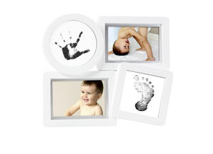 Babyprints Collage Frame White 6p