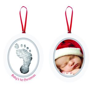 Babyprints Photo Ornament 6p