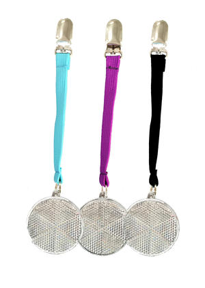 Reflector with Ribbon and Clip