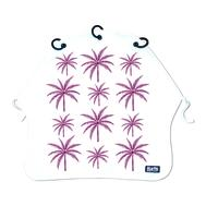 Baby Peace Barnvagnsgardin Palm Trees Purple 1p