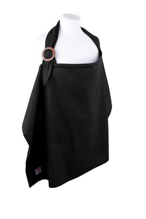 Nursing blanket Black 2-p