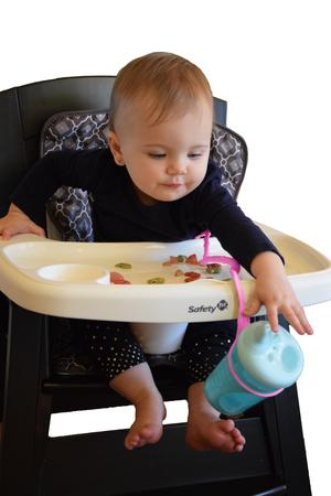 Brilli Baby Cup Catcher Rosa, 4p