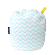 Kurtis Mini Nursing Pillow Zig-Zag Blue 1p