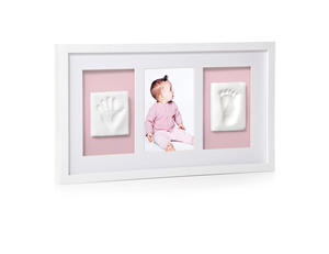 Wall Frame Triple White 6p