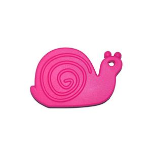 Teether Snail Pink 5p