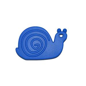 Teether Snail Blue 5p